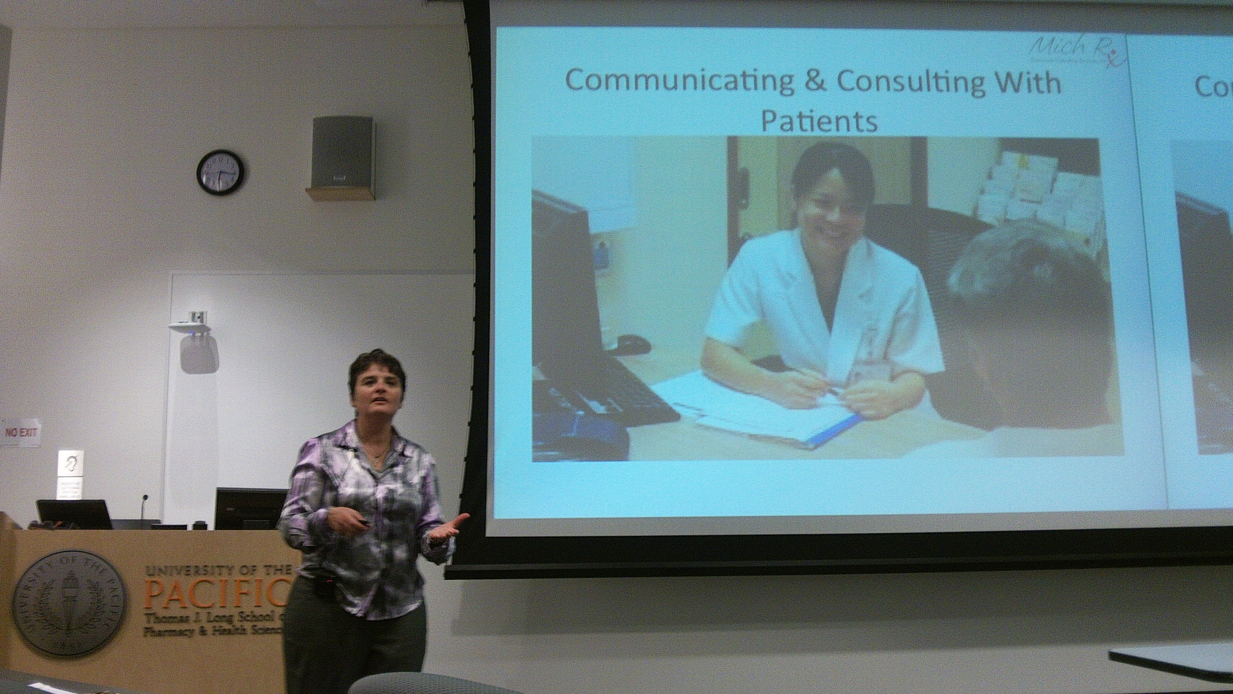 Michelle Speaks at UOP Pharmacy School IPSF HIV and Multicultural Awareness Event