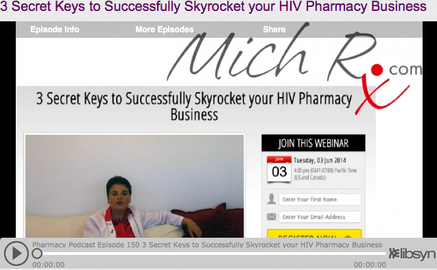 Pharmacy Podcast Show Hosts MichRx Consulting's Michelle Sherman As Guest