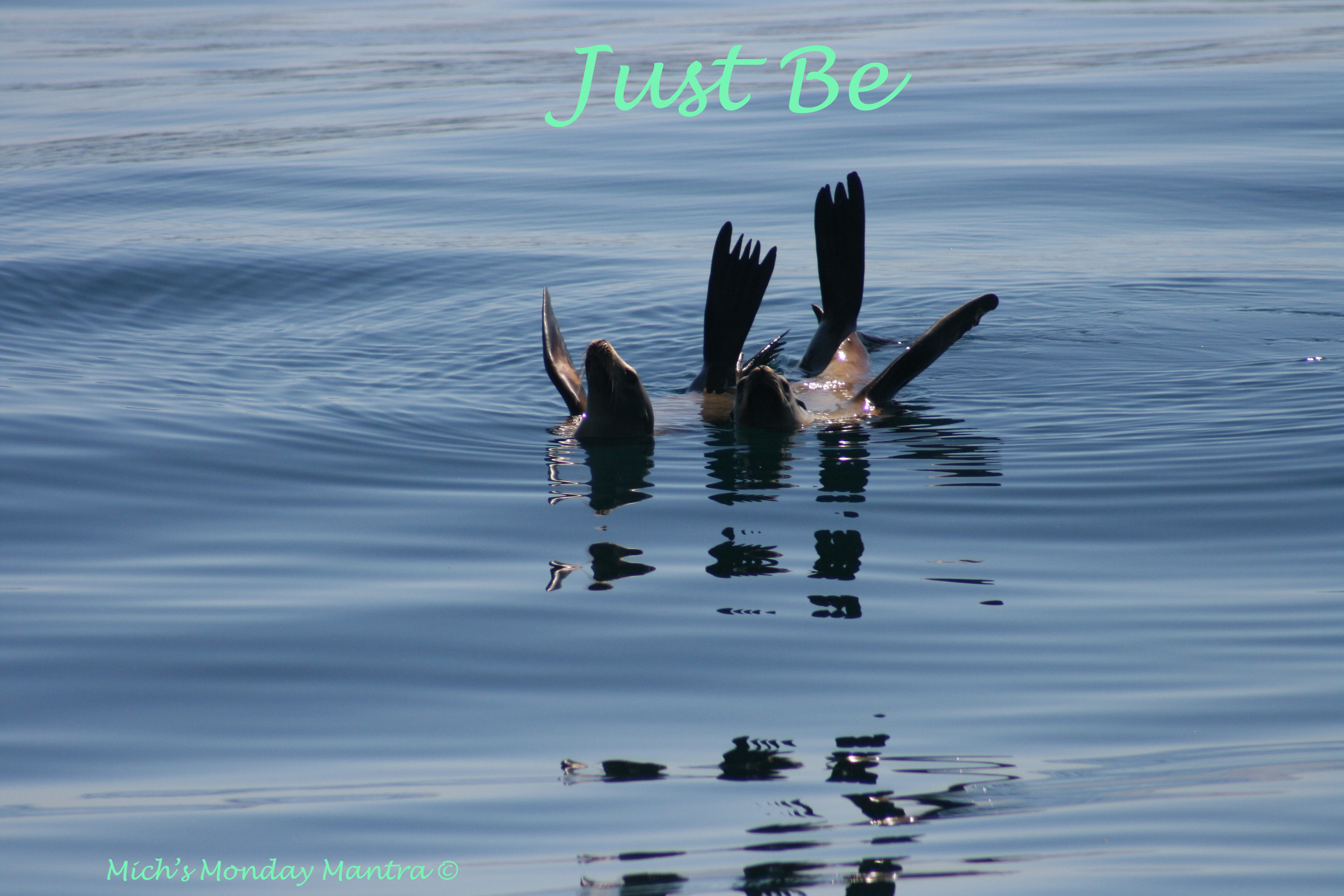 """Mich's Monday Mantra """"Just Be"""""""