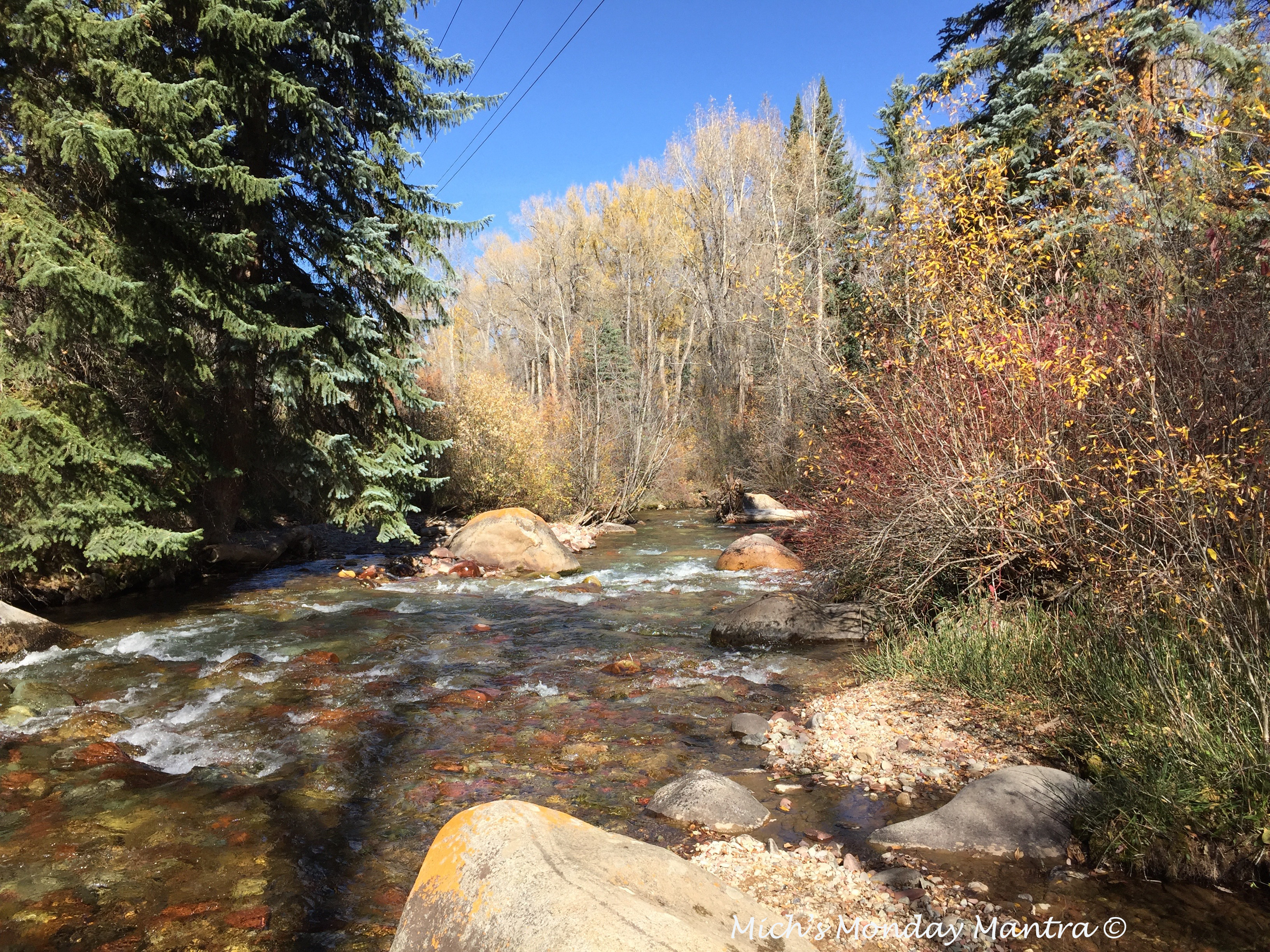 """Mich's Monday Mantra """"Ride The Flow Of The River"""""""
