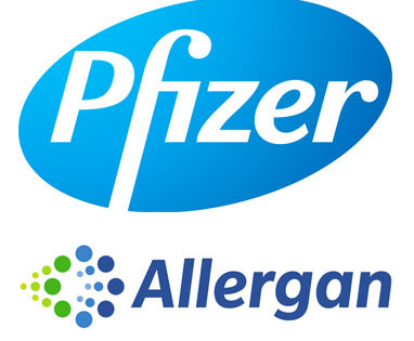 pfizer-allergan-logos