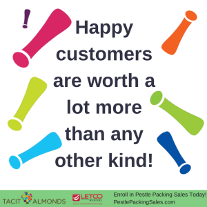 Happy customers are worth a lot more