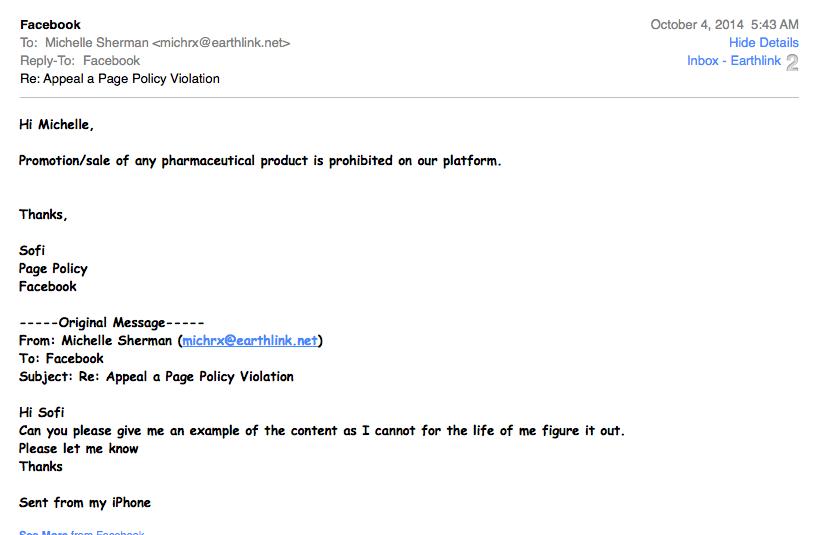 FB email respose 2