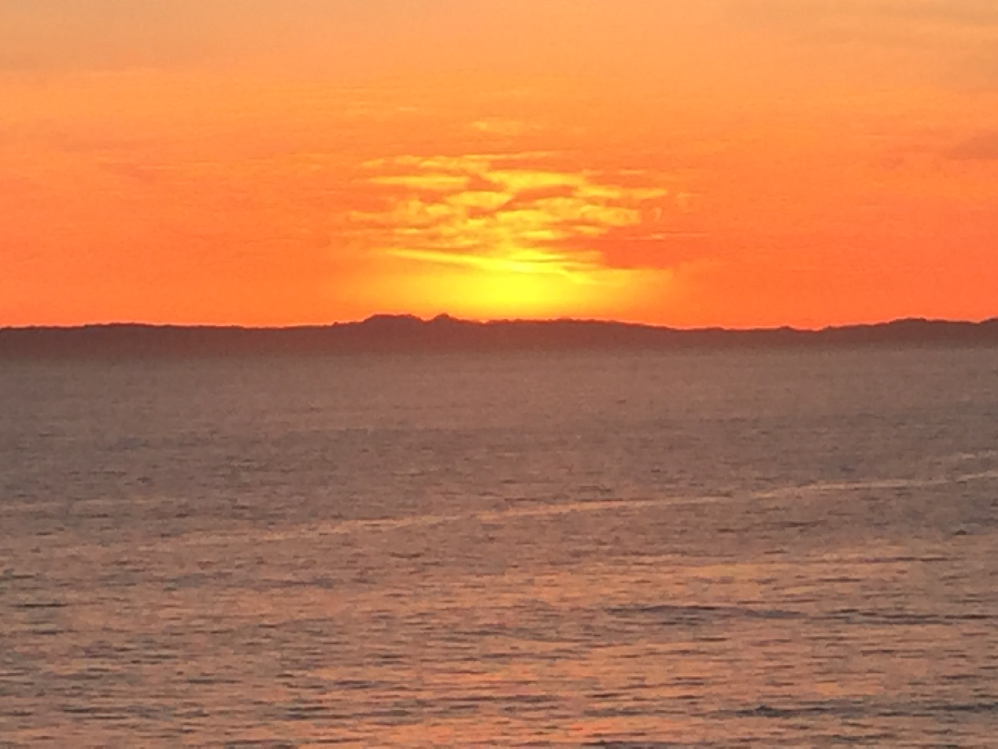 "Mich's Monday Mantra "" Enjoy The Pacific Sunset"""